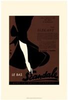 Le Scandale Fine Art Print