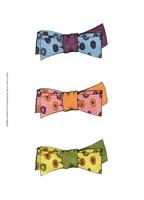 "Tri Bow I by Jennifer Goldberger - 10"" x 13"", FulcrumGallery.com brand"