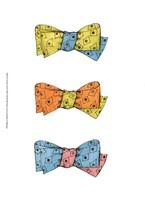 "Tri Bow III by Jennifer Goldberger - 10"" x 13"", FulcrumGallery.com brand"