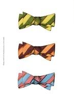 "Tri Bow IV by Jennifer Goldberger - 10"" x 13"", FulcrumGallery.com brand"