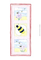"""Bee Trio by Megan Meagher - 7"""" x 17"""""""