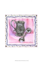 Heirloom Cup & Rattle II Framed Print
