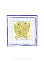 Frog with Plaid (PP) III Fine Art Print