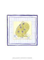 Frog with Plaid (PP) IV Fine Art Print