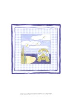 Turtle with Plaid (PP) II Framed Print