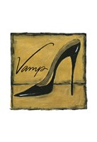 "Vamp on Gold by Chariklia Zarris - 11"" x 11"", FulcrumGallery.com brand"