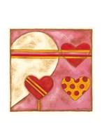 Pop Hearts I Fine Art Print
