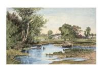 "Hanson Creek by Chariklia Zarris - 23"" x 16"""