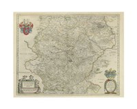 Thvringia Map Fine Art Print