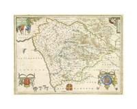 """15"""" x 11"""" Regional Maps"""