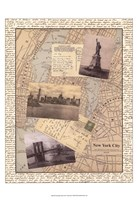 Post Cards from NY Fine Art Print