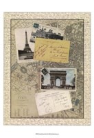"""Post Cards from Paris by Vision Studio - 12"""" x 16"""", FulcrumGallery.com brand"""