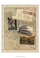 """Post Cards from Rome by Vision Studio - 12"""" x 16"""", FulcrumGallery.com brand"""