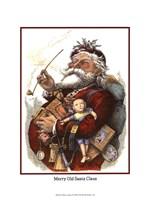 """Merry Santa by Chariklia Zarris - 10"""" x 13"""""""