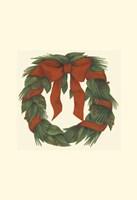 "Holiday Wreath (H) by Jennifer Goldberger - 10"" x 10"", FulcrumGallery.com brand"