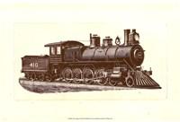 """Train Engine I by Chariklia Zarris - 19"""" x 13"""" - $13.49"""