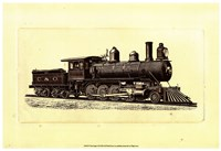 """Train Engine II by Chariklia Zarris - 19"""" x 13"""" - $13.49"""