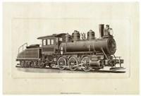 """Train Engine IV by Chariklia Zarris - 16"""" x 8"""" - $13.49"""