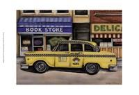 NYC Taxi 46B2 Fine Art Print