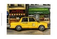 NYC Taxi 5A72 Fine Art Print