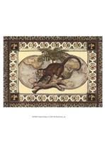 """Tropical Monkey I by Chariklia Zarris - 10"""" x 13"""""""
