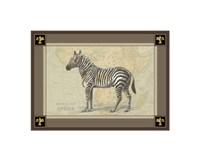 """9"""" x 7"""" Zebra Art"""