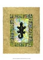 Ancient Amphibians II Fine Art Print