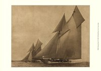 """Racing Yachts IV by Vision Studio - 13"""" x 10"""""""