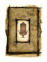 "Gilded Urn I by Jennifer Goldberger - 16"" x 22"""
