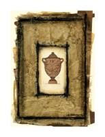 "Gilded Urn II by Jennifer Goldberger - 16"" x 22"""