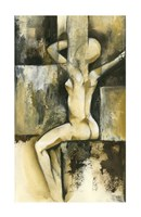 "Contemporary Seated Nude II by Jennifer Goldberger - 14"" x 24"" - $65.49"