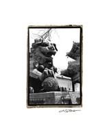 "Imperial Lion, Beijing by Laura Denardo - 10"" x 15"""