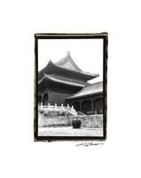"Palace Rooftops, Beijing by Laura Denardo - 11"" x 15"""