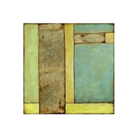 Stained Glass Window III Framed Print