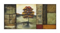 "Autumnal Impressions I (Le - signed and numbered) by Jennifer Goldberger - 40"" x 20"", FulcrumGallery.com brand"