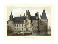 French Chateaux II Framed Print