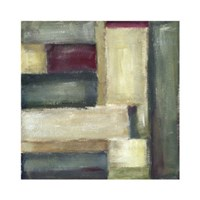 "Trace Echoes II by Chariklia Zarris - 24"" x 24"", FulcrumGallery.com brand"