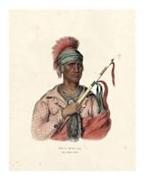 An Ioway Chief Giclee