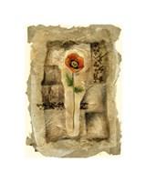 "Gilded Poppy II by Jennifer Goldberger - 16"" x 22"""