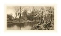 """Tranquil Riverscape I by Laura Denardo - 36"""" x 20"""""""