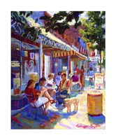 Colorful Cafe Giclee