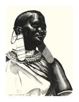 "Asha- Life by Daphane L. Johnson - 12"" x 16"""