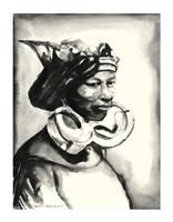 """Morowa- Queen by Daphane L. Johnson - 12"""" x 16"""""""