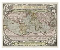 "Typvs Orbis Map by Laura Denardo - 34"" x 28"""