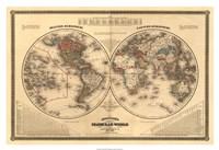 """38"""" x 26"""" Map Prints"""