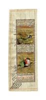 "Bird Pair from India II by Ramesh Sharma - 6"" x 16"""