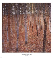 Beechwood Forest, c.1903 Fine Art Print