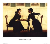 Confidences Fine Art Print