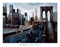 "Manhattan Without You by Marti Bofarull - 44"" x 35"""