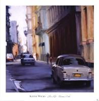 Slow Ride - Havana, Cuba Fine Art Print